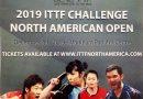 Benemax 国际乒联 2019世界巡回赛-北美洲挑战赛PLUS12月4日在万锦举行